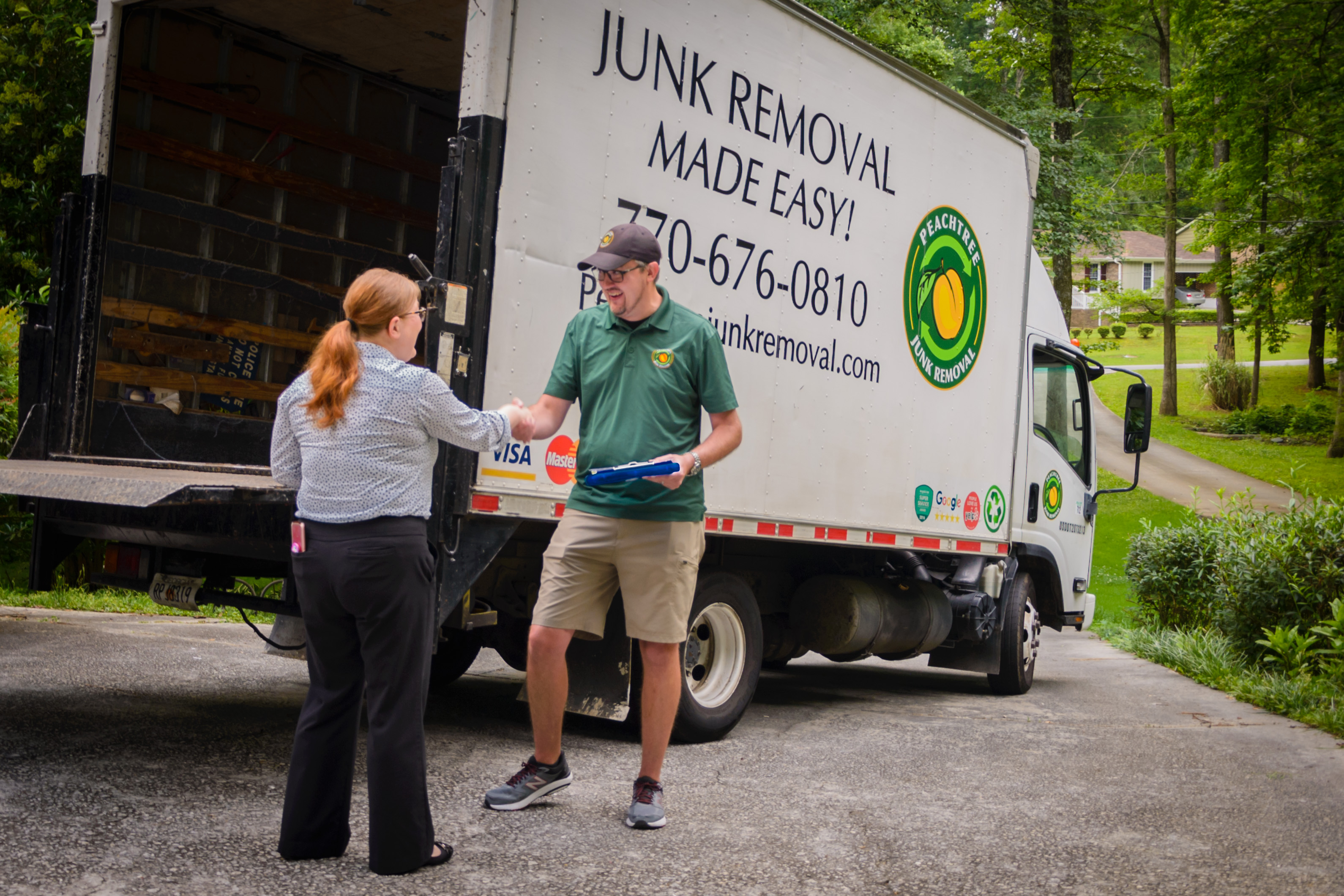 Book Peachtree Junk Removal Today