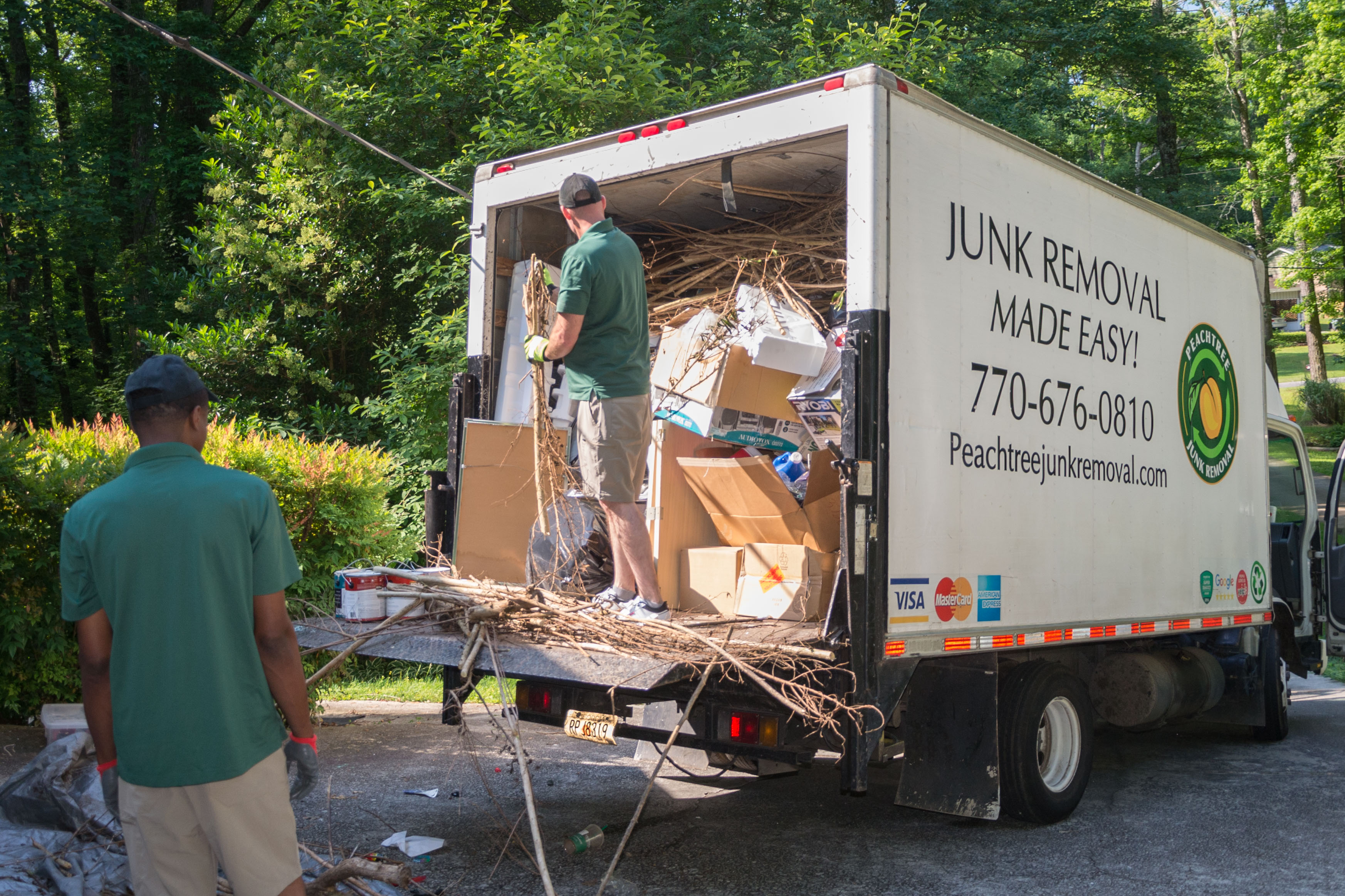 Peachtree Junk Removal | Atlanta Furniture & Debris Hauling
